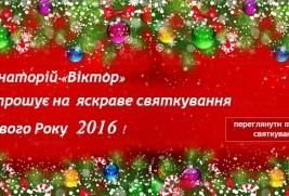 Приглашаем на яркое празднование  Нового 2016 года!
